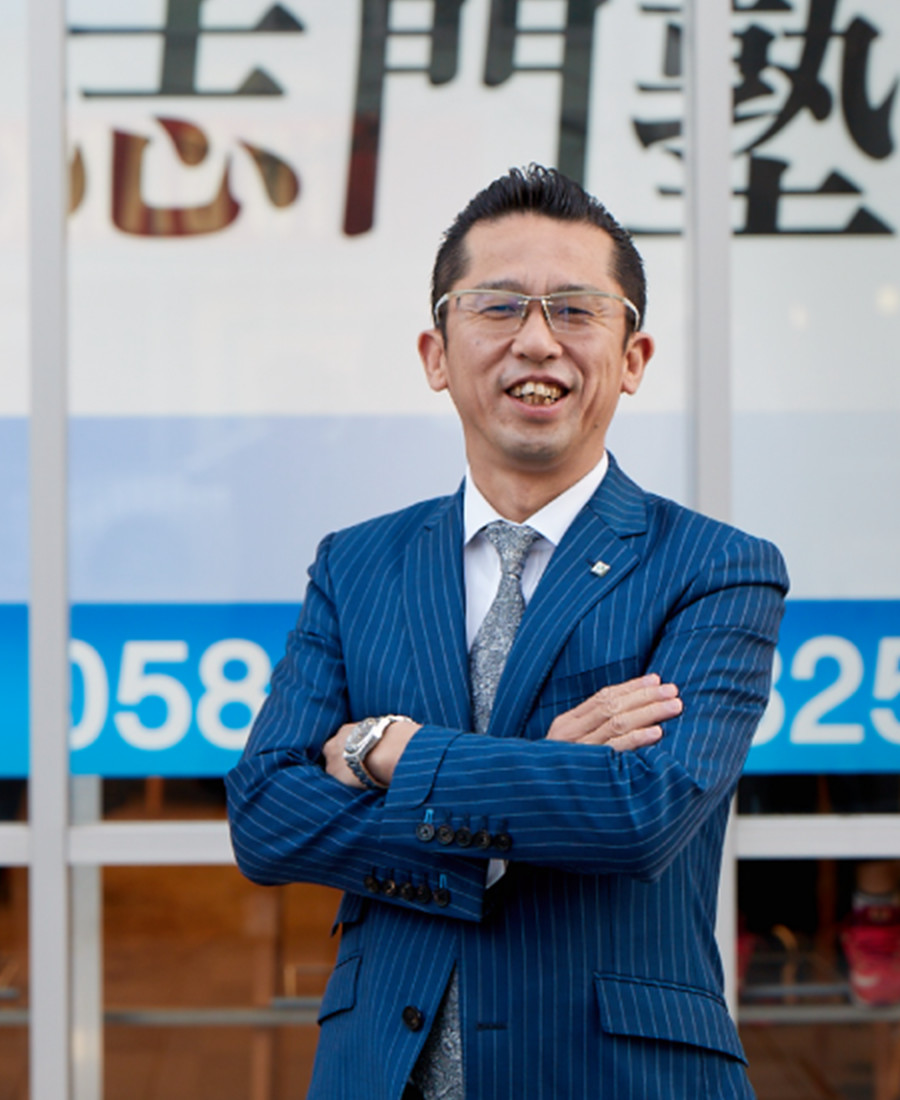 川瀬社長のまじめな写真