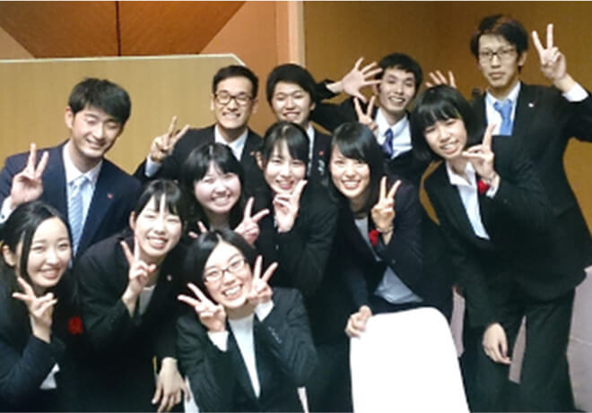 長谷川 裕子さんの仕事中の写真